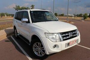 2014 Mitsubishi Pajero NW MY14 Exceed White 5 Speed Auto Sports Mode Wagon Driver Palmerston Area Preview
