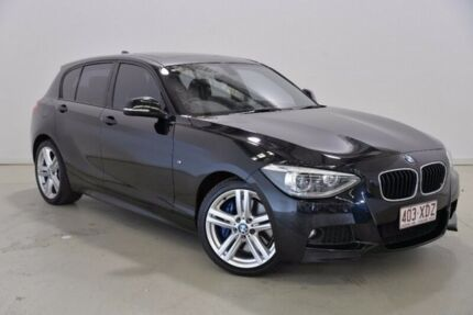 2013 BMW 125I F20 MY0713 M Sport Black 8 Speed Sports Automatic Hatchback