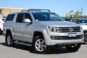 2015 Volkswagen Amarok 2H MY15 TDI420 4Motion Perm Highline Silver 8 Speed Automatic Utility Osborne Park Stirling Area Preview