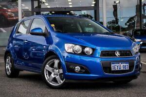 2015 Holden Barina TM MY15 CDX Blue 6 Speed Automatic Hatchback