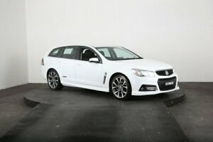 2015 Holden Commodore VF MY15 SS-V White 6 Speed Automatic Sportswagon
