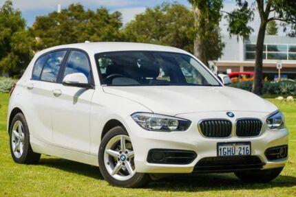 2017 BMW 118d F20 LCI Sport Line Steptronic White 8 Speed Sports Automatic Hatchback