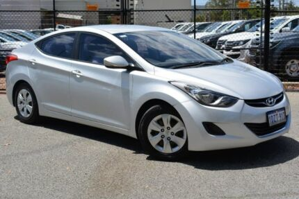 2012 Hyundai Elantra MD Active Silver 6 Speed Manual Sedan Gosnells Gosnells Area Preview