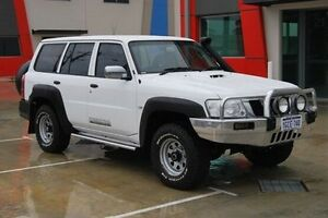 2011 Nissan Patrol GU 7 MY10 DX White 4 Speed Automatic Wagon Kenwick Gosnells Area Preview