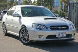 2006 Subaru Liberty B4 MY06 GT AWD Tuned By STI Silver 5 Speed Sports Automatic Sedan Docklands Melbourne City Preview