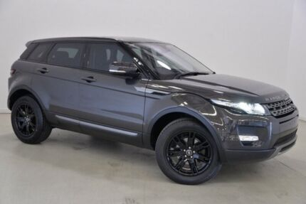 2012 Land Rover Range Rover Evoque L538 MY13 SD4 CommandShift Pure Grey 6 Speed Sports Automatic