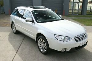 2007 Subaru Outback B4A MY08 R AWD Premium Pack White 5 Speed Sports Automatic Wagon Heatherton Kingston Area Preview