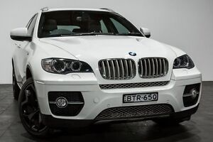 2010 BMW X6 E71 MY10.5 xDrive40d Coupe Steptronic White 8 Speed Sports Automatic Wagon Rozelle Leichhardt Area Preview