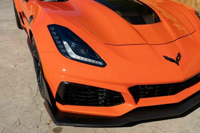 2019 Orange Chevrolet Corvette ZR1  | C7 Corvette Photo 5