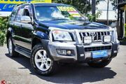 2005 Toyota Landcruiser Prado KZJ120R Grande Black 4 Speed Automatic Wagon Archerfield Brisbane South West Preview