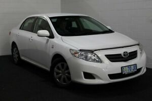 2010 Toyota Corolla ZRE152R Ascent White 4 Speed Automatic Sedan Glenorchy Glenorchy Area Preview