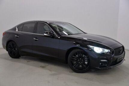 2015 Infiniti Q50 V37 S Hybrid Black 7 Speed Sports Automatic Sedan Hybrid