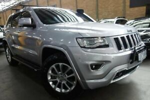 2013 Jeep Grand Cherokee WK MY2014 Overland Silver 8 Speed Sports Automatic Wagon Port Melbourne Port Phillip Preview