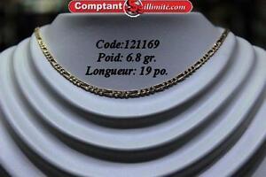 Chaine Figaro CV121169 COMPTANT ILLIMITE