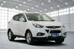2013 Hyundai ix35 LM2 SE AWD White 6 Speed Sports Automatic Wagon