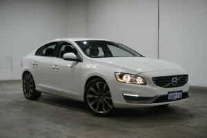 2015 Volvo S60 F Series MY15 T4 PwrShift Kinetic White 6 Speed Sports Automatic Dual Clutch Sedan Welshpool Canning Area Preview