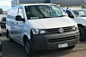2011 Volkswagen Transporter T5 MY11 Low Roof LWB DSG White 7 Speed Sports Automatic Dual Clutch Van