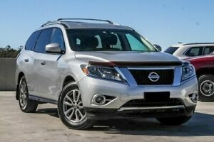 2014 Nissan Pathfinder R52 MY15 ST X-tronic 4WD Silver 1 Speed Constant Variable Wagon Aspley Brisbane North East Preview