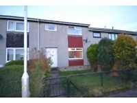 Unfurnished two double bedroom terraced house in popular Ladywood area of Penicuik.
