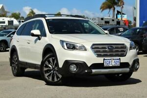 2014 Subaru Outback B6A MY15 2.0D CVT AWD Premium White 7 Speed Constant Variable Wagon Greenfields Mandurah Area Preview