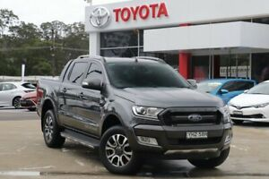 2018 Ford Ranger PX MkII MY18 Wildtrak 3.2 (4x4) Grey 6 Speed Manual Dual Cab Pick-up Wyoming Gosford Area Preview