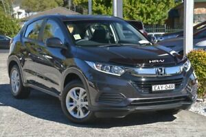 2019 Honda HR-V MY19 VTi Ruse Black Continuous Variable Wagon Wyoming Gosford Area Preview