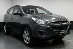 2012 Hyundai ix35 LM MY12 Active Grey 6 Speed Sports Automatic Wagon Hamilton East Newcastle Area Preview