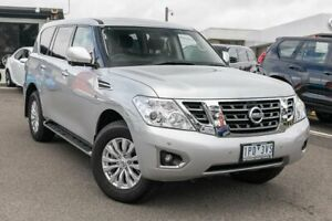 2019 Nissan Patrol Y62 Series 4 TI Silver 7 Speed Sports Automatic Wagon Dandenong Greater Dandenong Preview