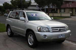 2003 Toyota Kluger MCU28R Grande AWD Silver 5 Speed Automatic Wagon Altona North Hobsons Bay Area Preview