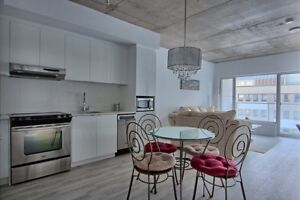{ BRAND NEW CONDO for rent   FULLY FURNISHED   DOWNTOWN MTL  }