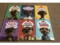 Full set of compare the meerkat children's books