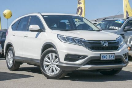 2016 Honda CR-V RM Series II MY17 VTi 4WD White Orchid 5 Speed Sports Automatic Wagon Pearce Woden Valley Preview