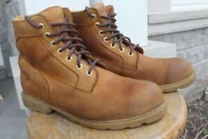 Timberland men's leather boots size US 10.5 10 ½ M Medium Width
