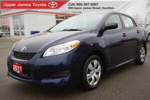 2011 Toyota Matrix No accidents, Carproof clean.