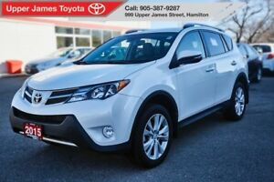 2015 Toyota RAV4 Limited AWD Manager's Special