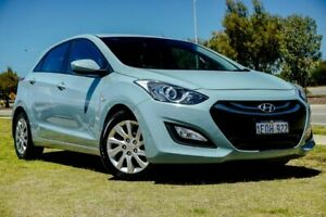 2014 Hyundai i30 GD2 Active Blue 6 Speed Sports Automatic Hatchback Clarkson Wanneroo Area Preview