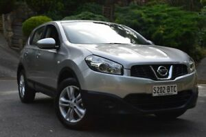2013 Nissan Dualis J10W Series 3 MY12 ST Hatch 2WD Silver 6 Speed Manual Hatchback St Marys Mitcham Area Preview