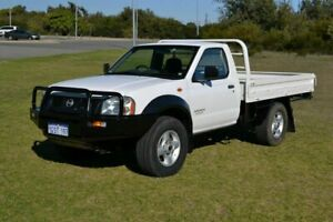 2003 Nissan Navara D22 DX (4x4) White 5 Speed Manual 4x4 Cab Chassis Rockingham Rockingham Area Preview
