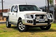 2011 Nissan Navara D40 S6 MY12 ST-X 550 White 7 Speed Sports Automatic Utility Wangara Wanneroo Area Preview