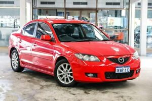 2008 Mazda 3 BK MY06 Upgrade Maxx Sport Red 4 Speed Auto Activematic Sedan Cannington Canning Area Preview
