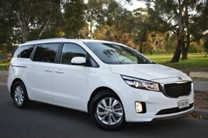 2016 Kia Carnival YP MY16 SI Clear White 6 Speed Sports Automatic Wagon St Marys Mitcham Area Preview
