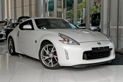2015 Nissan 370Z Z34 MY15 White 7 Speed Sports Automatic Coupe Chatswood West Willoughby Area Preview