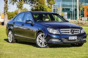 2012 Mercedes-Benz C250 W204 MY12 BlueEFFICIENCY 7G-Tronic + Elegance Blue 7 Speed Sports Automatic Burswood Victoria Park Area Preview