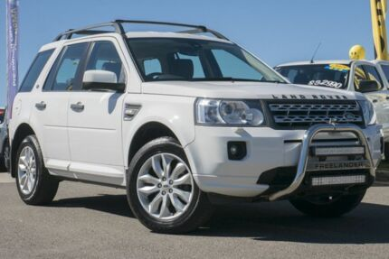 2012 Land Rover Freelander 2 LF MY12 SD4 SE White 6 Speed Sports Automatic Wagon