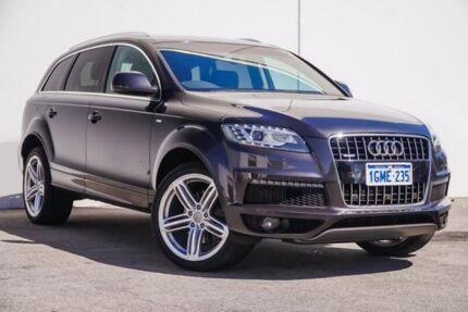 2014 Audi Q7 4L MY15 TDI Tiptronic quattro Sport Grey 8 Speed Sports Automatic Wagon Bellevue Swan Area Preview