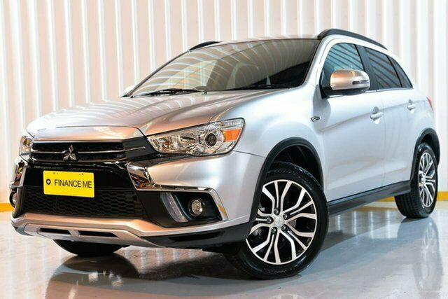 2018 Mitsubishi ASX XC MY18 LS 2WD Silver 6 Speed Constant Variable