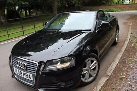 2009 AUDI A3 CABRIOLET 1.9 TDI SPORT -Cheapest on Gumtree!!