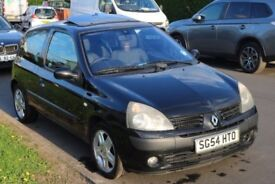 Renault Clio 1.2 16V Black 3dr Manual *LOW MILEAGE / HPI CLEAR*