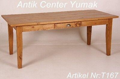 Tisch Esstisch Gesindetisch Tafel Schreibtisch Küchentisch Pult Landhaus Antik