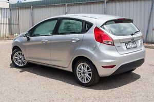 2014 Ford Fiesta WZ Trend PwrShift Silver 6 Speed Sports Automatic Dual Clutch Hatchback Greenacre Bankstown Area Preview